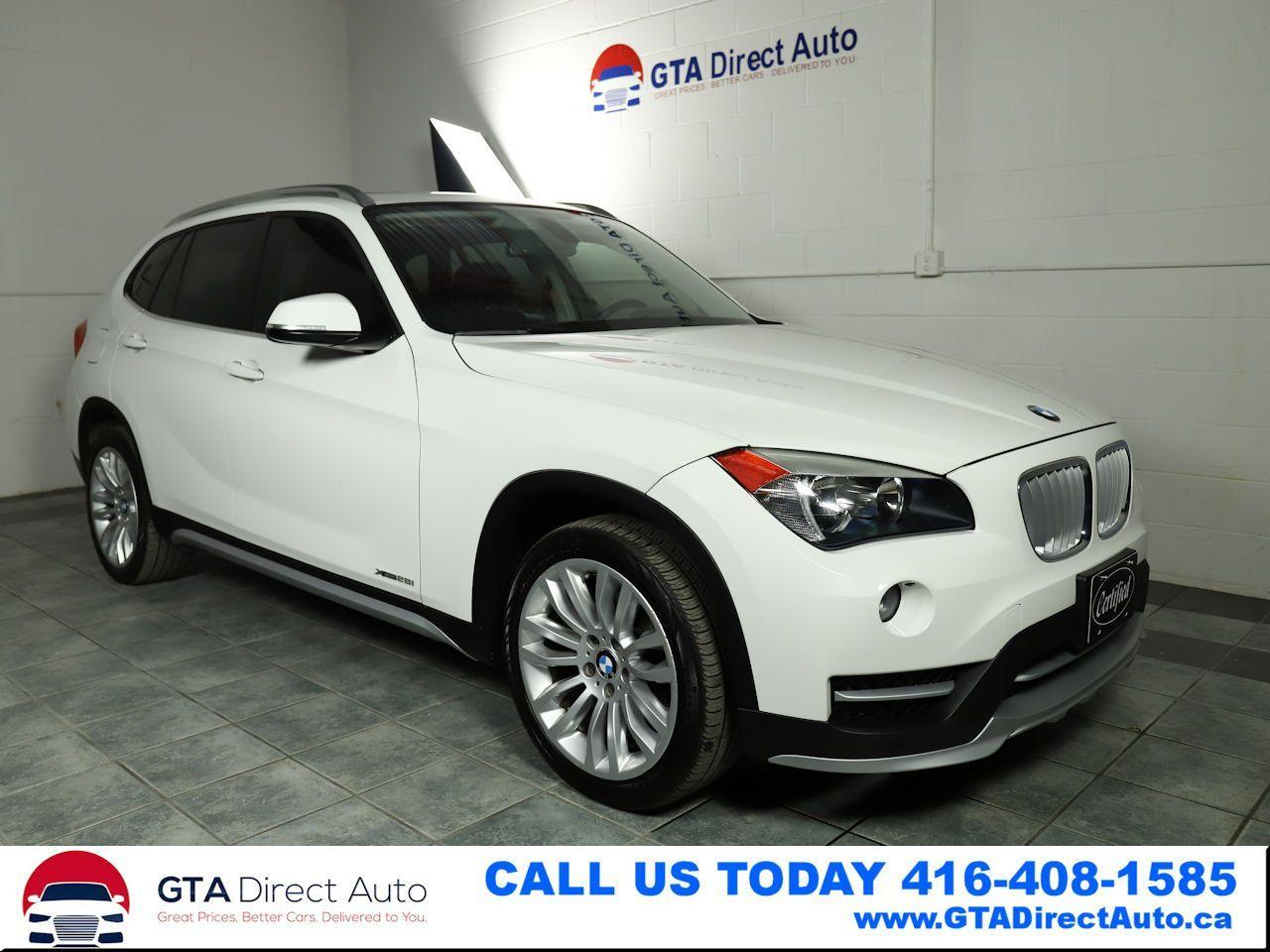 2015 BMW X1 xDrive28i AWD Panoroof Leather Heated Certified
