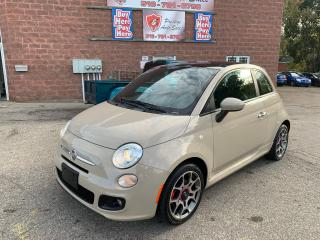 Used 2012 Fiat 500 Sport/SUNROOF/NO ACCIDENT/SAFETY INCLUDED for sale in Cambridge, ON