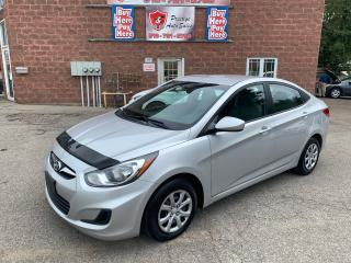 Used 2012 Hyundai Accent GL/1.6L/NO ACCIDENT/SAFETY INCLUDED for sale in Cambridge, ON