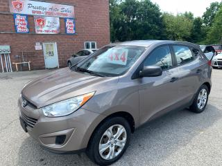 Used 2012 Hyundai Tucson 4WD/2.4L/ONE OWNER/NO ACCIDENT/SAFETY INCLUDED for sale in Cambridge, ON