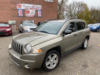 Used 2008 Jeep Compass Sport/2.4L/NO ACCIDENT/SAFETY INCLUDED for sale in Cambridge, ON