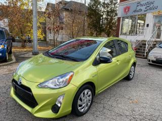 Used 2015 Toyota Prius c HYBRID/ONE OWNER/SAFETY INCLUDED for sale in Cambridge, ON