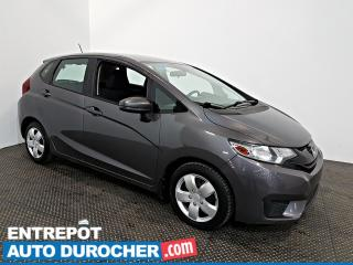 Used 2015 Honda Fit LX AIR CLIMATISÉ - Sièges Chauffants for sale in Laval, QC