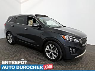 Used 2017 Kia Sorento AWD NAVIGATION - Toit Ouvrant - A/C - 7 Passagers for sale in Laval, QC