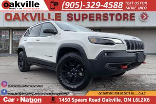 Used 2019 Jeep Cherokee TRAILHAWK ELITE | NAVI | PANO | LEATHER | B/U CAM for sale in Oakville, ON