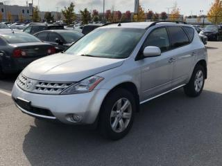 Used 2007 Nissan Murano AWD 4DR for sale in Mississauga, ON