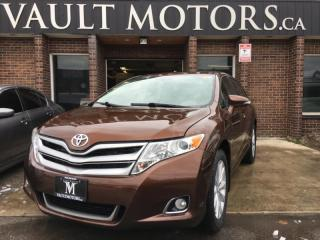 Used 2014 Toyota Venza AWD DEALER MAINTAINED ONTARIO VEHICLE for sale in Brampton, ON