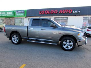Used 2013 RAM 1500 SLT Quad Cab 4WD 5.7L HEMI NO ACCIDENT CERTIFIED for sale in Milton, ON