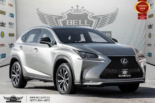 2016 Lexus NX 200t AWD, NO ACCIDENT, NAVI, BACK-UP CAM, SENSORS