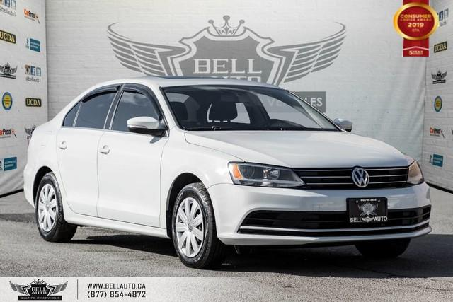 2015 Volkswagen Jetta Sedan Trendline+, NO ACCIDENT, BACK-UP CAM, SUNROOF