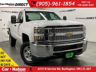 Used 2019 Chevrolet Silverado 2500 HD | BACK UP CAMERA| 4X4| ONE PRICE INTEGRITY| for sale in Burlington, ON