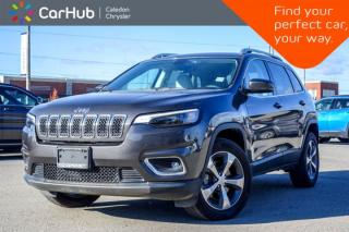 Used 2019 Jeep Cherokee Limited 4x4|Bluetooth|Backup Cam|Leather|Heated Front Seats|R-Start|18