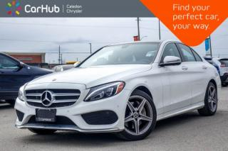Used 2018 Mercedes-Benz C-Class C 300|4Matic|Navi|Pano Sunroof|Bluetooth|Blind Spot|Keyless|Heated Front Seats|17