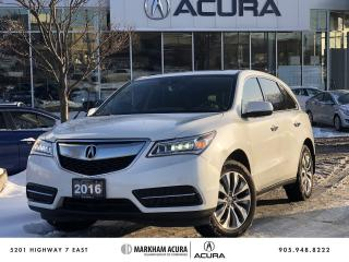 Used 2016 Acura MDX NAVI for sale in Markham, ON
