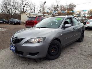 Used 2006 Mazda MAZDA3 GS,LOW KMS1,Certified for sale in Oshawa, ON