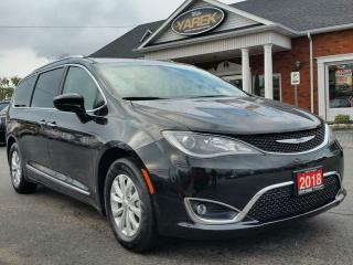 Used 2018 Chrysler Pacifica Touring-L Plus, NAV, Remote Start, Power Doors/Gate, Heated Leather Seats for sale in Paris, ON