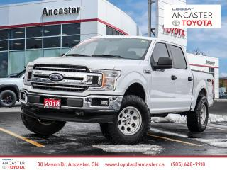 Used 2018 Ford F-150 XLT - 1OWNER|REMOTE START|TONNEAU COVER|4X4 for sale in Ancaster, ON