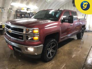 Used 2014 Chevrolet Silverado 1500 LT Z71 4X4 Crew cab * Remote start *  20 Inch FAST HD series rims * 33 Inch ATTURO M/T tires * On Star * Reverse camera * Downhill assist * Bed liner for sale in Cambridge, ON