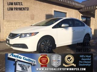 Used 2015 Honda Civic Sedan 4dr Auto EX for sale in Winnipeg, MB