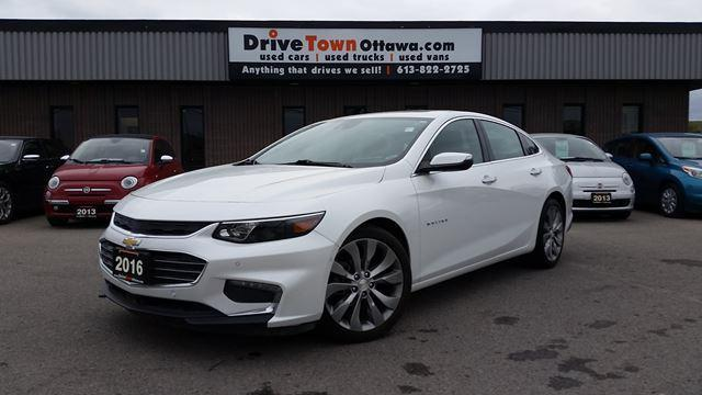 2016 Chevrolet Malibu PREMIER **NAV**LEATHER**MOONROOF**90 Days no Payments**