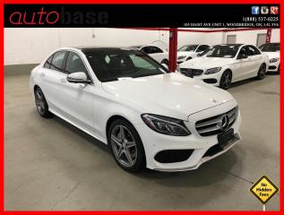 Used 2016 Mercedes-Benz C-Class C300 4MATIC BURMESTER PREMIUM PLUS SPORT ACTIVE LED 360 for sale in Vaughan, ON