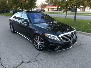 Used 2014 Mercedes-Benz S-Class S63 4M AMG*PREM BURMESTER*PREM DIAMOND STITCH LEATHER AWD for sale in Concord, ON