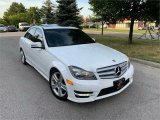Used 2013 Mercedes-Benz C-Class C300 4M NAVI AMG PKG BLUTOOTH SUN-ROOF AWD for sale in Concord, ON
