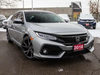 Used 2018 Honda Civic Hatchback Sport Touring 4dr FWD Hatchback for sale in Brantford, ON