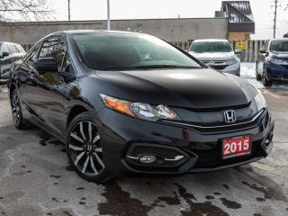 Used 2015 Honda Civic COUPE EX-L 2dr FWD Coupe for sale in Brantford, ON