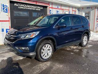 Used 2016 Honda CR-V EX with MOONROOF for sale in Kingston, ON