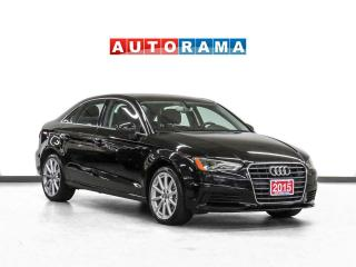 Used 2015 Audi A3 TDI Navigation Leather Sunroof Backup Cam for sale in Toronto, ON