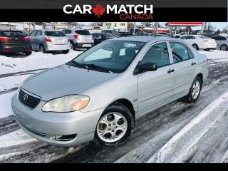Used 2008 Toyota Corolla *AUTO* / SUNROOF / ALLOY'S for sale in Cambridge, ON