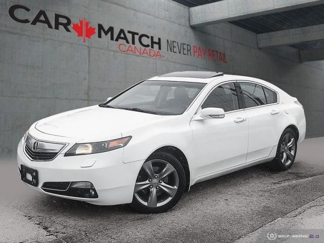 2013 Acura TL W/TECH PKG / AWD / NO ACCIDENTS