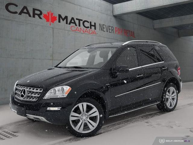 2011 Mercedes-Benz M-Class ML 350 BlueTEC / NAV / ROOF /