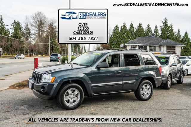 2007 Jeep Grand Cherokee Laredo 4x4, Heated Leather, Sunroof, Clean!