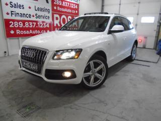 Used 2012 Audi Q5 quattro 2.0L Premium Plus S-LINE PANO-ROOF B-TOOTH for sale in Oakville, ON