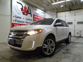 Used 2013 Ford Edge AWD 4X4 NAVIGATION LEATHER PANO ROOF B-TOOTH B-CAM for sale in Oakville, ON