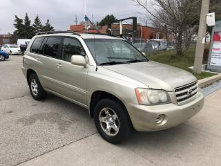 Used 2002 Toyota Highlander SHIPPER'S SPECIAL,$3600, for sale in Toronto, ON