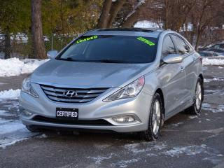 Used 2011 Hyundai Sonata LEATHER,NO-ACCIDENTS,LIMITED,FULLY LOADED OPTIONS for sale in Mississauga, ON