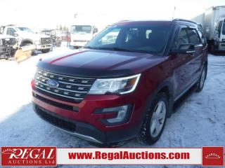 Used 2017 Ford EXPLORER XLT 4D UTILITY V6 7PASS AWD 3.5L for sale in Calgary, AB
