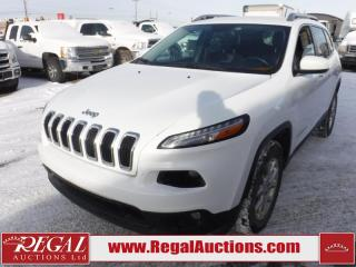 Used 2014 Jeep Cherokee North 4D Utility 4WD 3.2L for sale in Calgary, AB