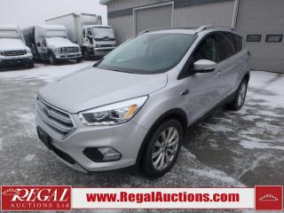 Used 2017 Ford ESCAPE TITANIUM 4D UTILITY AWD 2.0L for sale in Calgary, AB