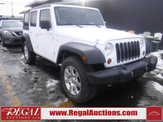 Used 2008 Jeep Wrangler Unlimited Rubicon 4D Utility 4WD for sale in Calgary, AB