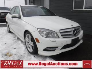 Used 2011 Mercedes-Benz C-Class C300 4D Sedan AWD for sale in Calgary, AB