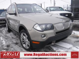 Used 2010 BMW X3 XDRIVE30I 4D Utility AWD for sale in Calgary, AB