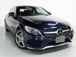Used 2017 Mercedes-Benz C-Class C300 COUPE 4-MATIC   AMG   NAVI   BACKUP CAM for sale in Vaughan, ON