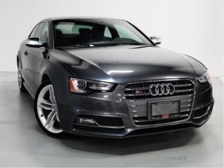 Used 2016 Audi S5 3.0   S-LINE   WARRANTY   NAVI   DRIVE SELECT for sale in Vaughan, ON
