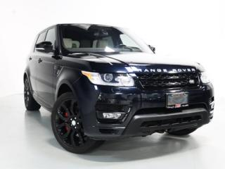 Used 2016 Land Rover Range Rover Sport V8 SC DYNAMIC   WARRANTY   PANO   HEADS UP for sale in Vaughan, ON