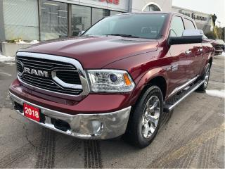 Used 2018 RAM 1500 Limited Crew 4x4 V8 w/Sunroof, Air-Ride, Navi, for sale in Hamilton, ON