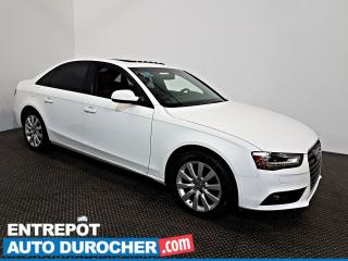 Used 2013 Audi A4 AWD TOIT OUVRANT - AIR CLIMATISÉ - Cuir for sale in Laval, QC